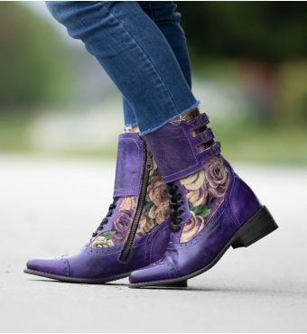 FAYE POISON RUSTIC/LILAC TAPESTRY 6